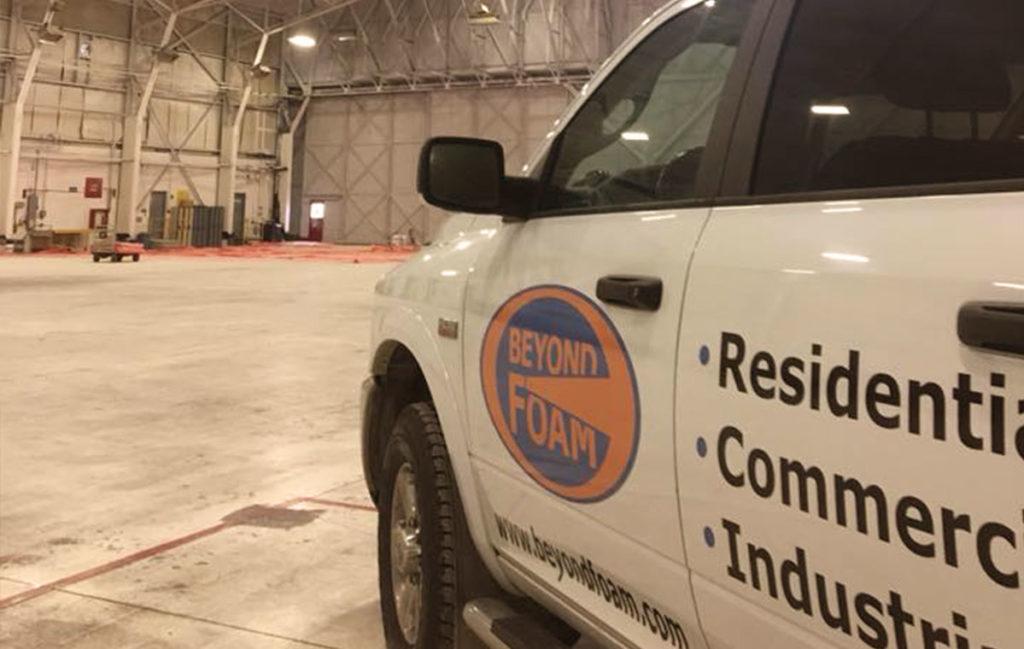 commercial spray foam insulation calgary - Van